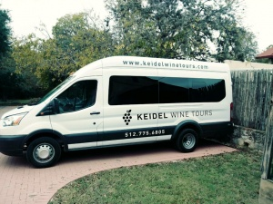 Keidel Wine Tours Van